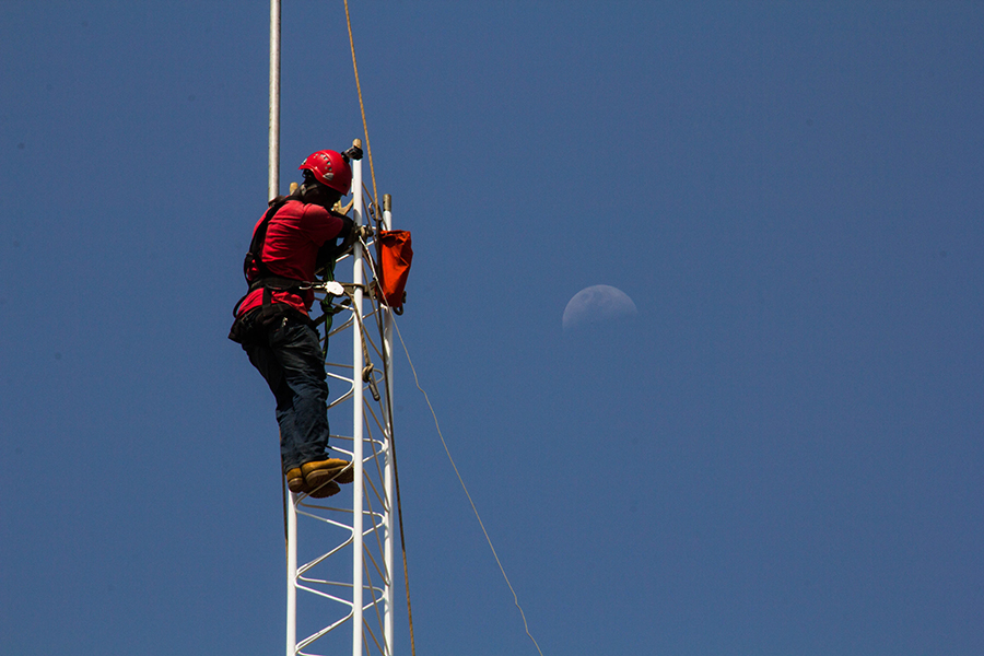 FPC Mission in Liberia Erects 150′ Radio Station Tower
