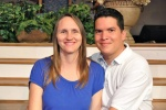 Pastor Marcus Reyes and his wife Jen