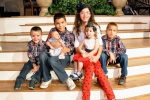 The children of Pastor Reyes and his wife