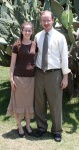 Rev. Jason Boyle and his wife Danielle